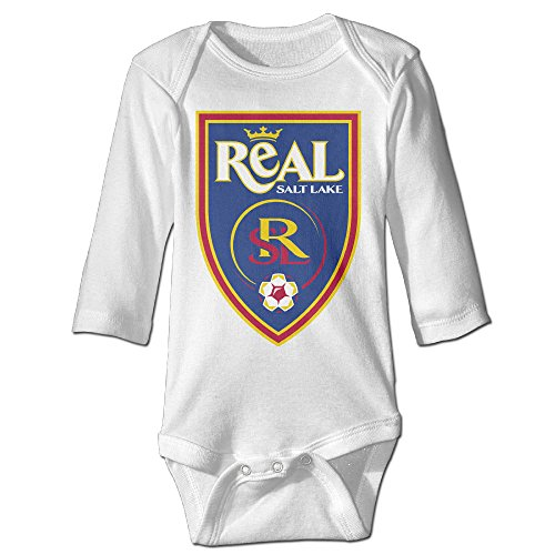 Real Salt Lake Jeff Cassar Baby Onesie Bodysuit Toddler Clothes Longsleeve