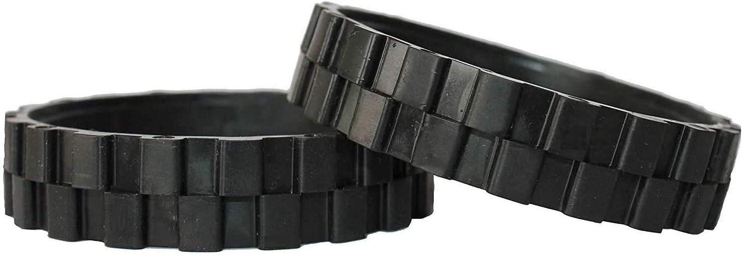 NEUMÁTICOS Ruedas para IROBOT ROOMBA Series 500, 600, 700, 800 Y 900 (Pack 2 Unidades) Fabricado en España Antideslizante, Gran adherencia y fácil Montaje