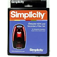 Simplicity SF-I8 HEPA and Secondary Filter for Verve, Cinch and Jessie Canisters
