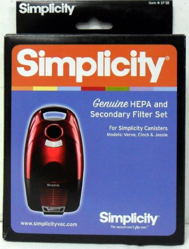 (Simplicity SF-I8 HEPA and Secondary Filter for Verve, Cinch and Jessie Canisters )