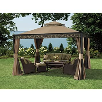 Living Home 10 x 12 Gazebo Replacement Canopy - RipLock 350  sc 1 st  Amazon.com & Amazon.com : Living Home 10 x 12 Gazebo Replacement Canopy ...