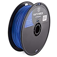 HATCHBOX Performance PLA 3D Printer Filament, Dimensional Accuracy +/- 0.03 mm, 1 kg Spool, 1.75 mm, Blue by HATCHBOX