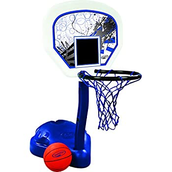 Dunnrite Splash And Shoot Swimming Pool Basketball Hoop With Stainless Steel Rim
