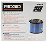 Ridgid VF3500 Genuine Replacement 3-Layer Fine Dust and Dirt Wet/Dry Vac Filter for Ridgid 3-4.5 Gallon Portable Vacuums