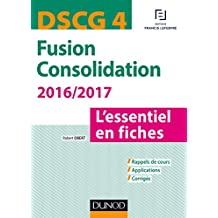 DSCG 4 - Fusion Consolidation 2016/2017 - 5e éd (Express DSCG) (French Edition)
