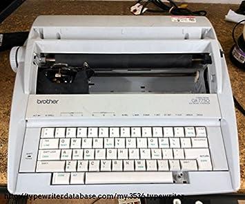 Reconstruido discontinued Brother gx7750 máquinas de escribir por alrededor de la oficina con nueva máquina garantía