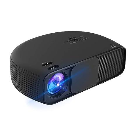 Proyector LCD HD, 3600 Lúmenes 1080P Videojuego Película De TV ...