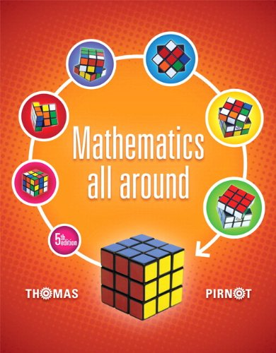 Mathematics All Around Plus New Mymathlab With Pearson Etext    Access Card Package  5Th Edition
