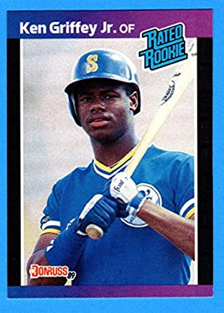 f35555ca8a 1989 Donruss #33 Ken Griffey Jr Mariners Rookie Card - Mint Condition Ships  in a