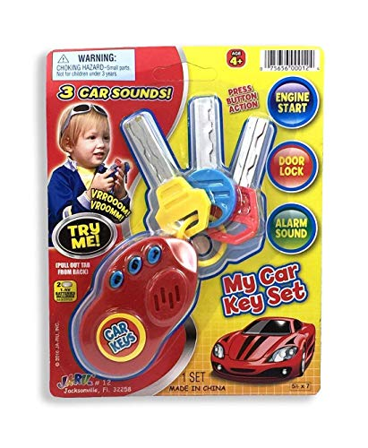 Peel Coupe - My Car Toy Remote Key Set (Colors May Vary)