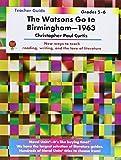 Watsons Go to Birmingham - Teacher Guide by Novel Units, Inc.