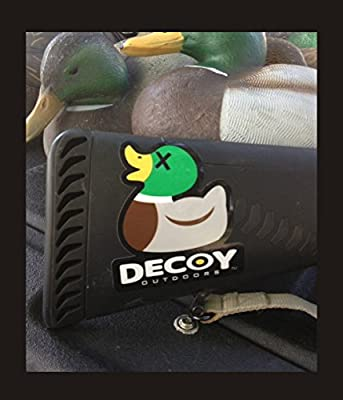 Decoy Outdoors Rubber Duck Drake Mallard Duck Hunting Sticker Decal