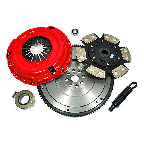EFT STAGE 3 CLUTCH KIT+FLYWHEEL 95-04 TOYOTA 4RUNNER TACOMA T100 TUNDRA 3.4L V6 (Flywheel Tacoma compare prices)