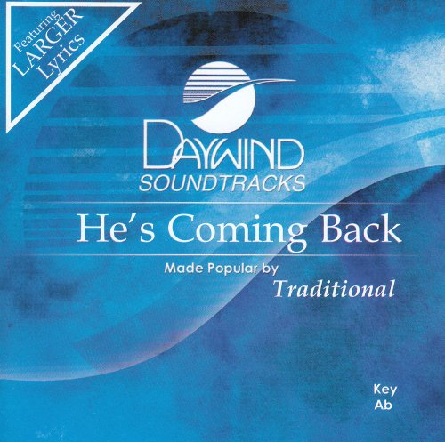 Read Online He's Coming Back [Accompaniment/Performance Track] PDF
