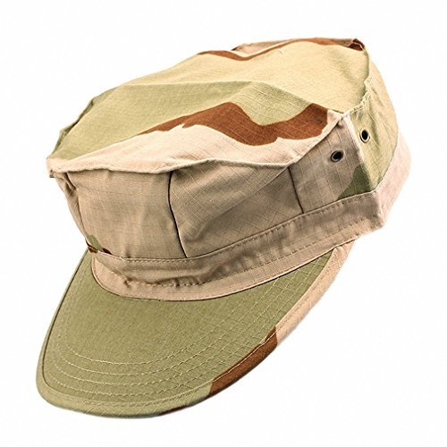 squaregarden Cadet Army Cap for Men Military Style Hats