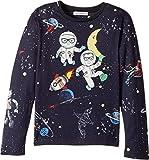 Dolce & Gabbana Kids Baby Girl's Spaceman T-Shirt (Toddler/Little Kids) Blue Print T-Shirt