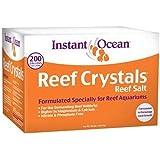 Instant Ocean-Aquarium Systems 200 Gallon Reef Crystals Sea Salt (Box)