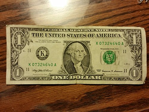 1999 Series $1 Federal Reserve Note -- Bank of Dallas, Texas -- Very ()