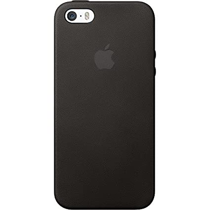 the latest 38fbb 1f426 Apple iPhone 5s Black Leather Case MF045LL/A