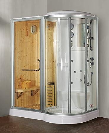 Great box doccia finska con sauna e bagno turco with sauna in casa prezzi - Prezzi sauna per casa ...