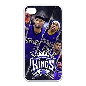 NBA Sacramento Kings TPU Back Cover Case for Iphone 4/4s,Demarcus Consins,Isiah Thomas Iphone 4/4s TPU Protector