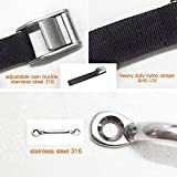 Battery Box Hold-Down Strap Tie Down Strap for