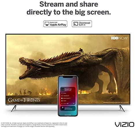 "VIZIO M-Series Quantum 50"" Class (49.5"" Diag.) 4K HDR Smart TV 51WRco5ZMSL"