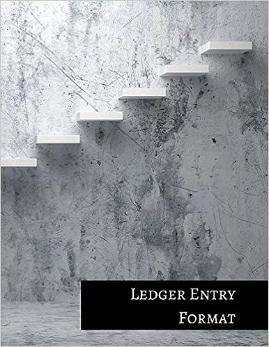 Ledger Entry Format: Three Columnar Format
