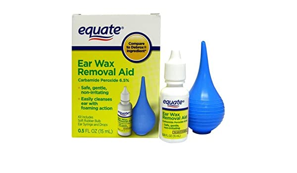 Equate Ear Wax Removal Aid, 0 5 fl oz: Amazon ca: Tools