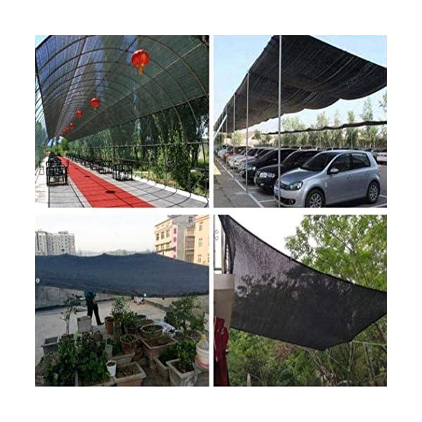MRZHW Piante Reti per frangisole Tasso di ombreggiatura al 95% Anti UV di Lunga Durata Reti solari per Piante per… 5 spesavip