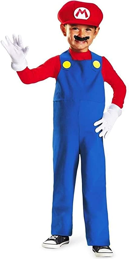 Super Mario Costume Medium 8 NEW