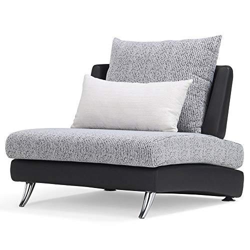 Amazon.com: Zuri Muebles Palmas Modular Cuero Seccional 1 ...