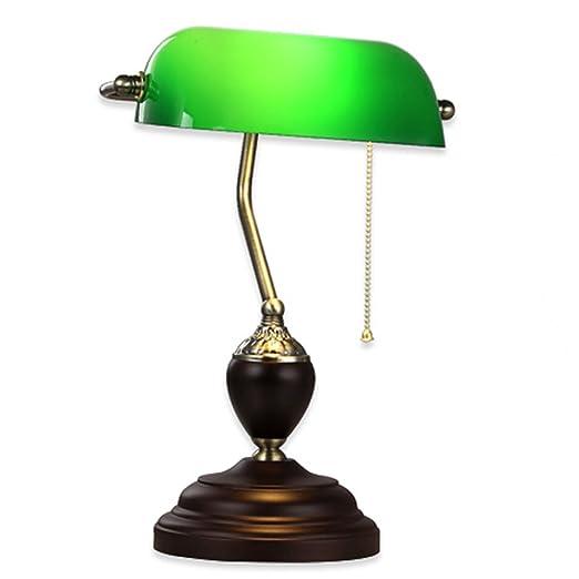 JBZP Creativo Moda Iron Lámpara de Mesa lámpara de Escritorio y ...