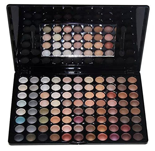 Amazing2015 Professional 88 Metal Shimmer Color Eyeshadow Palette 02# by Amazing2015