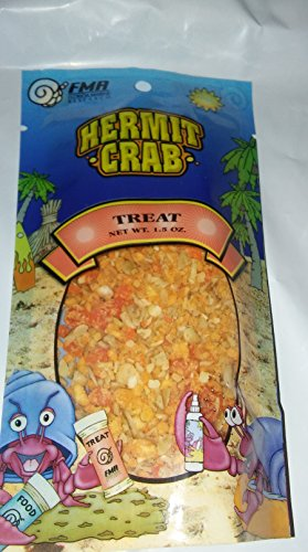 Fmr Hermit Crab (Hermit Crab Treat Pouch 1.50 Ounce By Florida Marine Research (FMR))