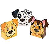 Puppy Party Favor Boxes - 12 ct