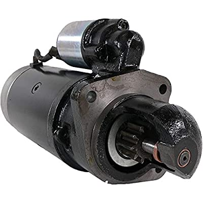 DB Electrical SBO0073 New Starter For Volvo F4 4.0L 4.0 Diesel Truck 81 82 83 84 85 86 1981 1982 1983 1984 1985 1986, Freightliner, Peterbilt, Sterling And More 241232 465471 481034 5001687 18386: Automotive