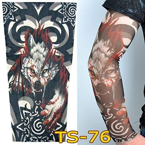Zhuhuimin 3 Unidades/Juego Flor Brazo Tatuaje Manga Sin Costuras ...
