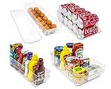 #6: Sorbus Fridge Bins and Freezer Organizer Refrigerator Bins Stackable Storage Containers BPA-Free Drawer Organizers for Refrigerator Freezer and Pantry Storage