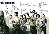 THE WALKING DEAD Autographed REPRINT 8x10 inch Photo RP