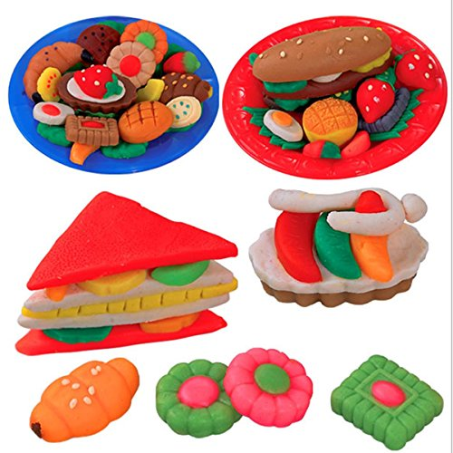Play Dough Mold Set Healthy Sandwich Mode Soft