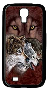 Cool Painting Samsung Galaxy I9500 Case and Cover -Find 9 Wolves Custom PC Hard Case Cover for Samsung Galaxy S4/I9500
