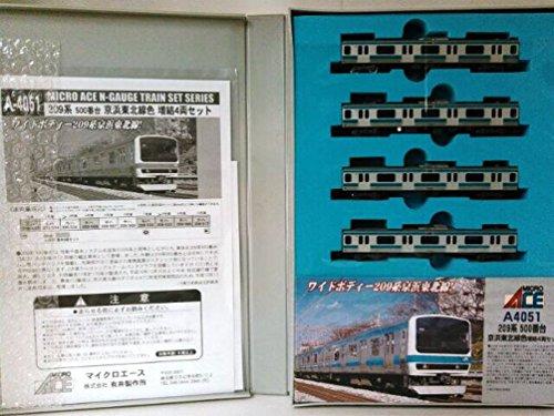 マイクロエース Nゲージ 209系-500京浜東北線 増結5両セット A4051 鉄道模型 電車