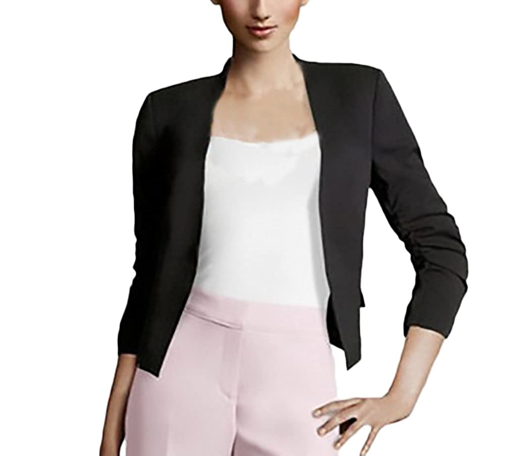 Blazer Donna Elegante Primaverili Manica Lunga Slim Fit Ufficio Business Casual Moda Tailleur Giacca Giacche Puro Colore Laisla Fashion