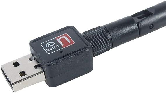 RECEPTOR WIFI N MINI USB 150MB 1w Tv wii ANTENA Ralink R5370 monitor ANTENNA Mini 150m USB Wifi Wireless LAN 802.11 N/g/b Adapter with Antenna