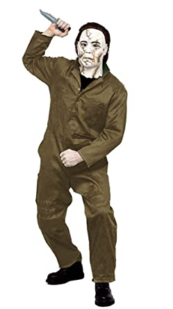 Halloween Rob Zombie Michael Myers Costume Adult Large  sc 1 st  Amazon.com & Amazon.com: Halloween Rob Zombie Michael Myers Costume Adult Large ...