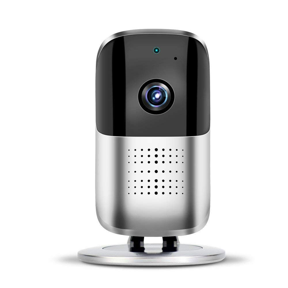 ZZY Wireless Home Camera, Wifi IP Security Surveillance Camera 1080P HD Baby Monitor Nanny Cam For Baby/Elder/Pet Caring With 2-Way-Audio, Motion Detection&Night Vision