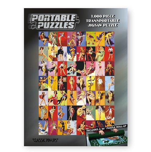(Portable Puzzles - Classic Pin-Ups)