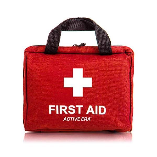 51WRibUArqL Erste Hilfe Set - 90-teiliges Premium Erste-Hilfe-Set - enthält Sofort Kühlpacks, Augenspülung, Rettungsdecke für zu…