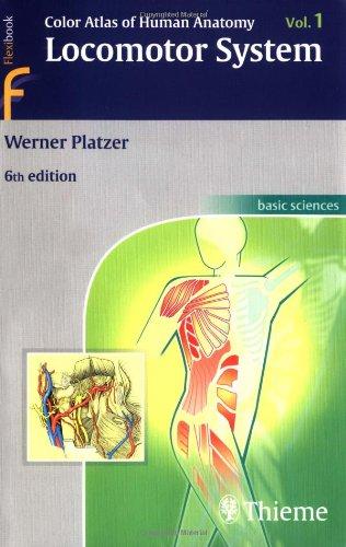 Color Atlas Of Human Anatomy Locomotor System, Vol. 1 (Flexibook)